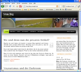 Ansicht im Firefox 3 Browser